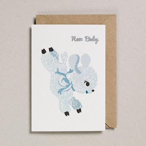 New Baby Lamb Card