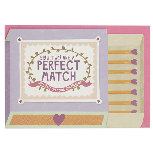Perfect Match Engagement Card