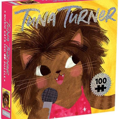 Tuna Turner Music Cats 100 Piece Jigsaw