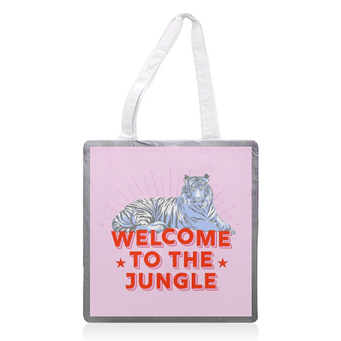 'Welcome to the Jungle' Tote Bag