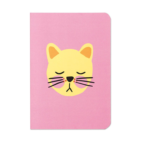 Cat Notebook by Raspberry Blossom