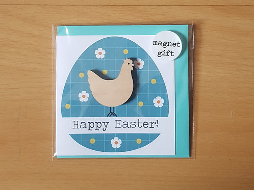 Happy Easter Chicken Card