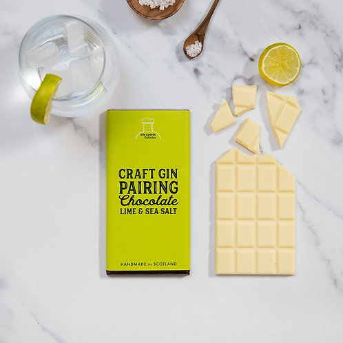 Craft Gin Pairing Chocolate - Lime & Sea Salt