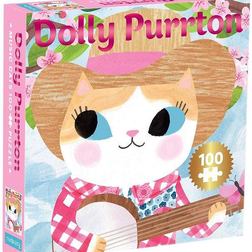 Dolly Purrton Music Cats 100 Piece Jigsaw