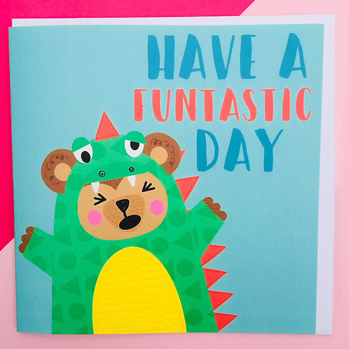 Funtastic Day Birthday Card