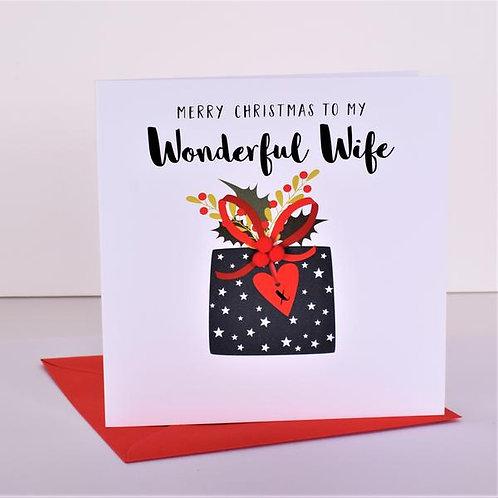 Merry Christmas to my Wonderful Wife