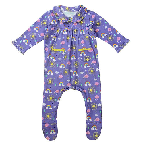Sunshine Print Sleepsuit