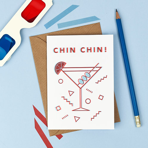 3D Chin Chin Card