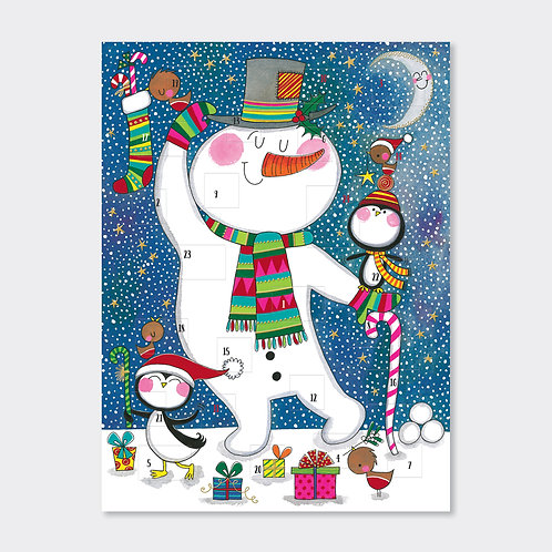 Advent Calendar (foiled) - Snowman & Penguins