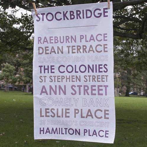 Stockbridge Tea Towel
