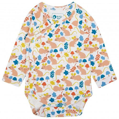 Fieldmouse All Over Print Baby Bodysuit