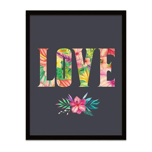 Floral Love - Framed Print