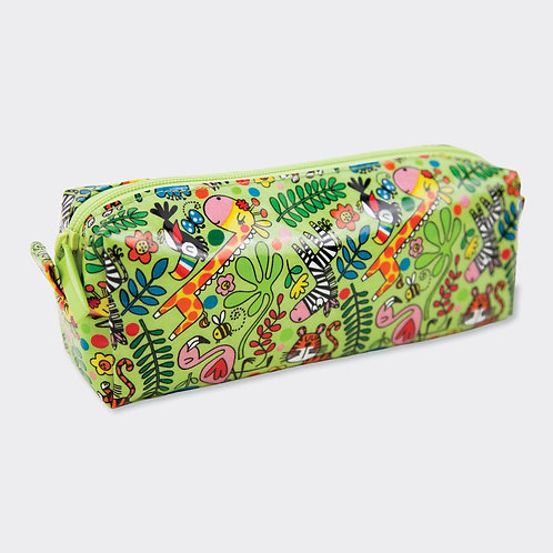 Slim Pencil Case - Jungle