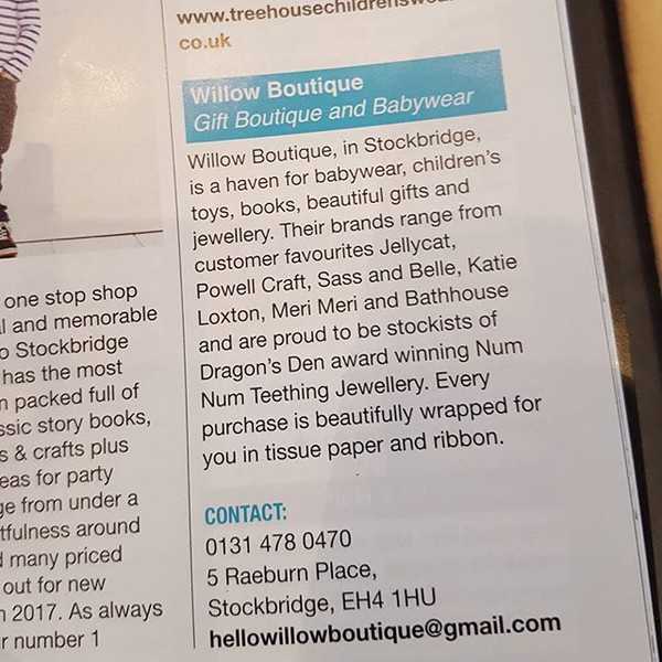 Another great mention in this months MAD