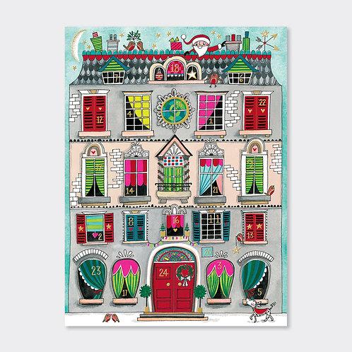 Advent Calendar (foiled) - Christmas House