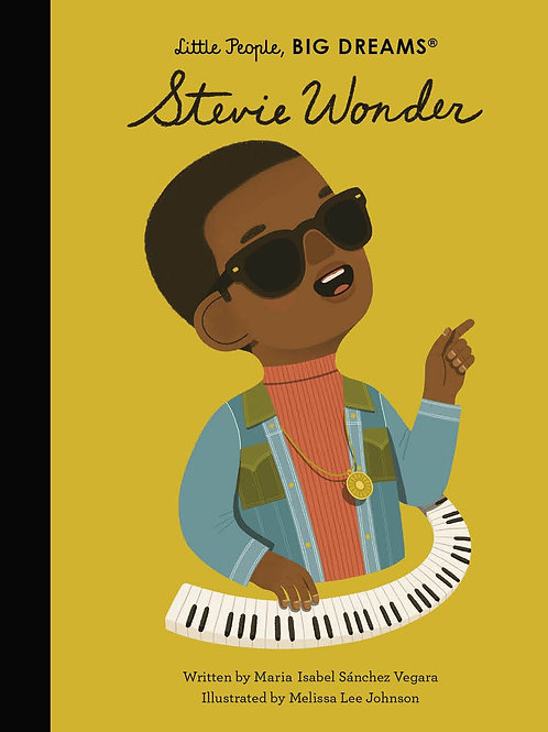 Little People Big Dreams: Stevie Wonder