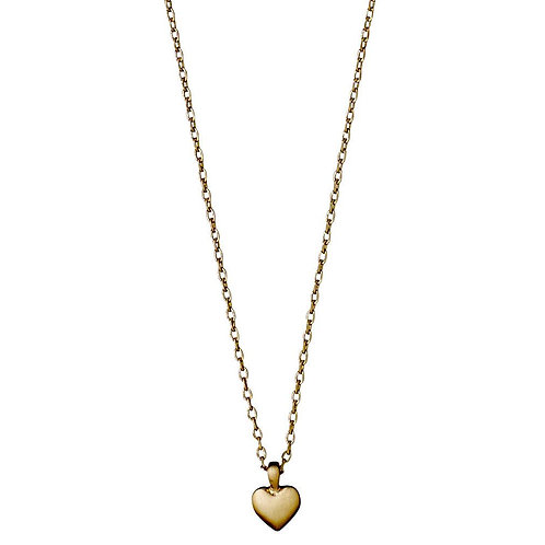 Sophia Heart Gold-plated necklace - Small