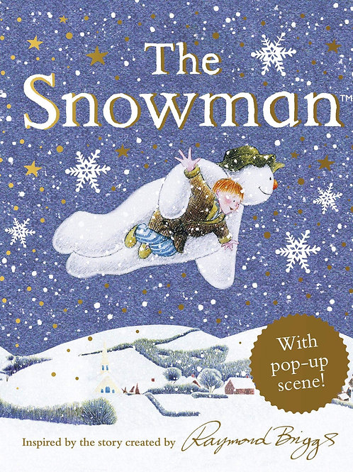 The Snowman (with Pop-Up Scene)