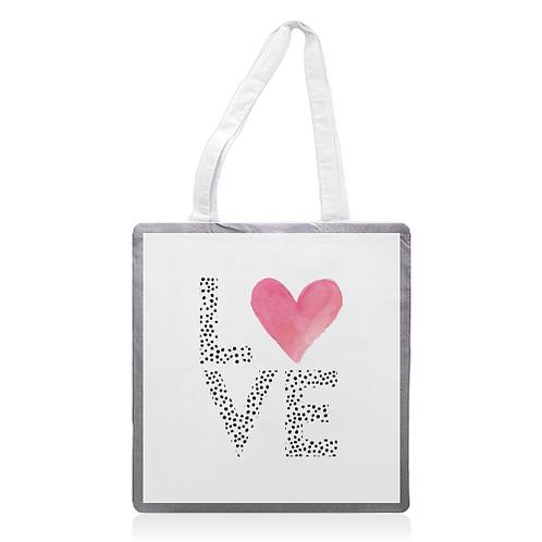 'LOVE' Tote Bag