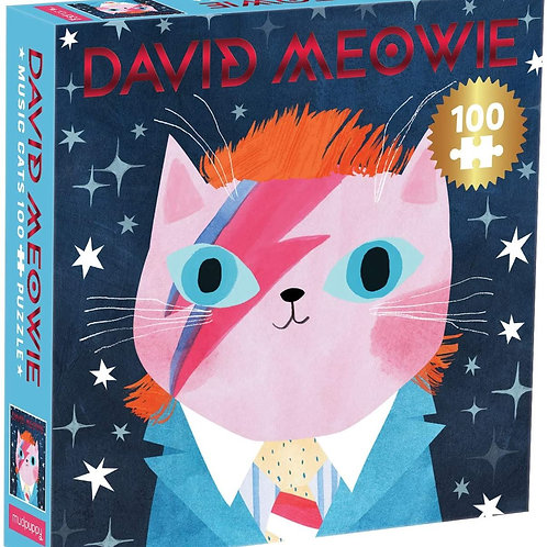 David Meowie Music Cats 100 Piece Jigsaw