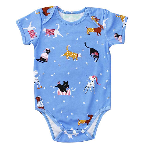 Cats and Dogs Babygrow