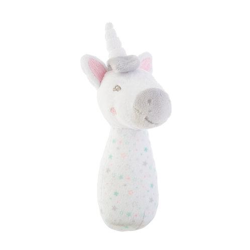Evie Unicorn Baby Rattle