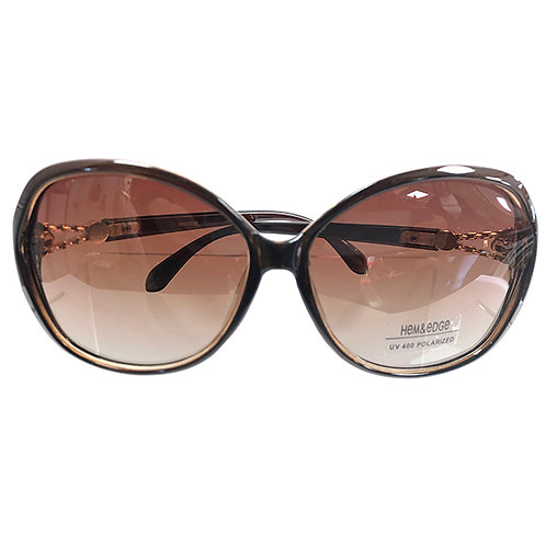 Polarized UV400 Sunglasses - BROWN