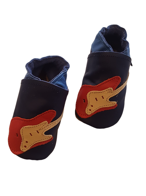 Electric Guitar Baby Shoes