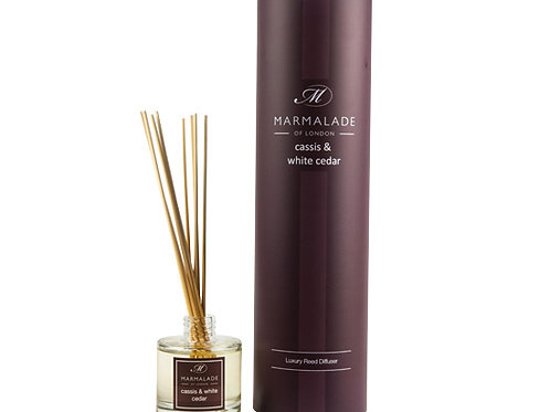 Cassis & White Cedar Reed Diffuser
