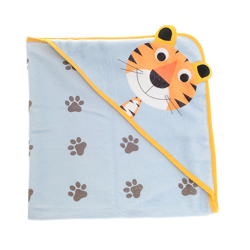 Terence the Tiger Hooded Bath Towel