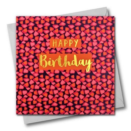 Colour Pop Birthday Card