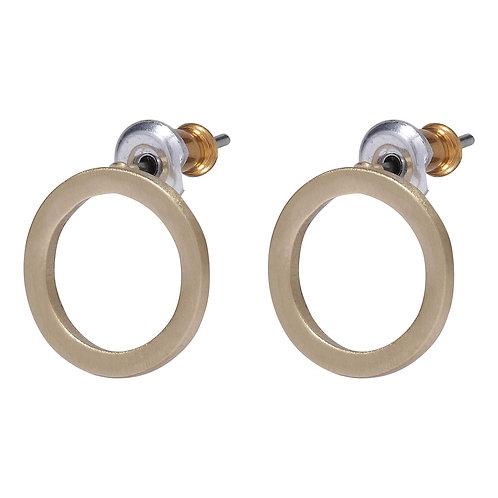 Liv Gold-Plated Ring Earrings