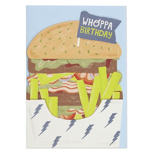Whoppa BirthdayCard