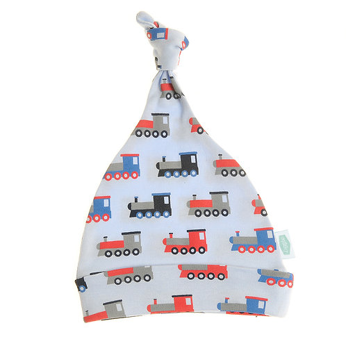 Trains Cotton Baby Hat