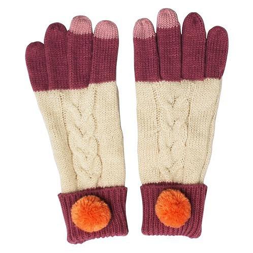 Loop Cream Gloves