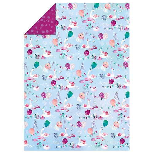 Swan Princess Wrapping Paper