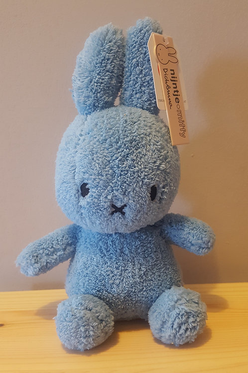 Miffy Terry Soft Toy - Ocean Blue