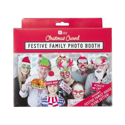 Festive Family Photo Booth Kit