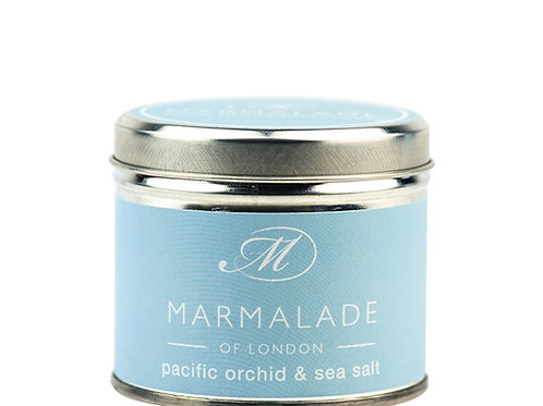 Pacific Orchid & Sea Salt Tin Candle