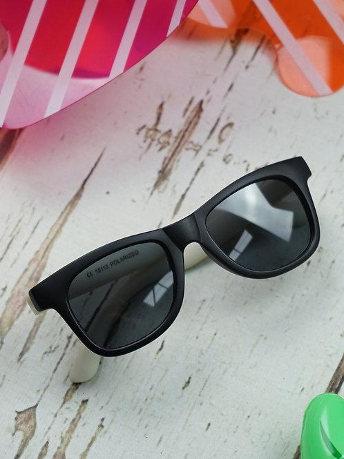 Cool Black Polarized Sunglasses - 3-5 yrs