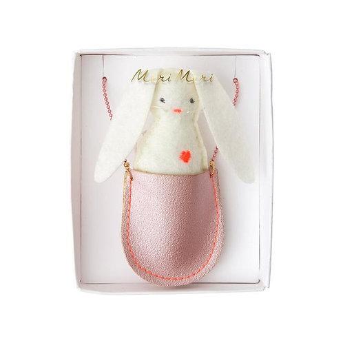 Bunny Pocket Necklace
