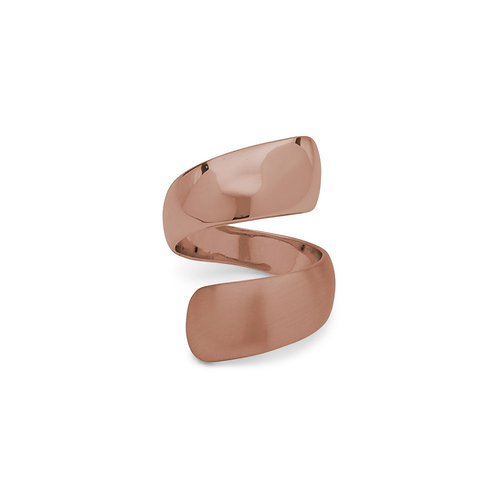 Alma Rose Gold-Plated Ring