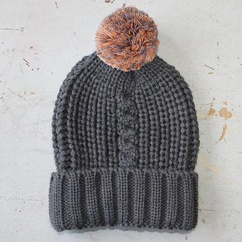 Loop Dk Grey Hat