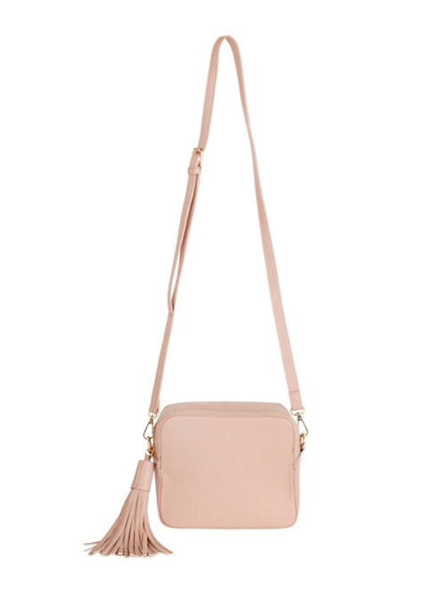 Box Cross Body Bag - Blush