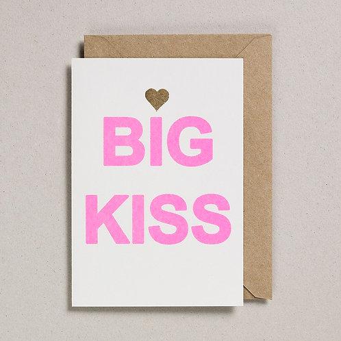 Big Kiss Card