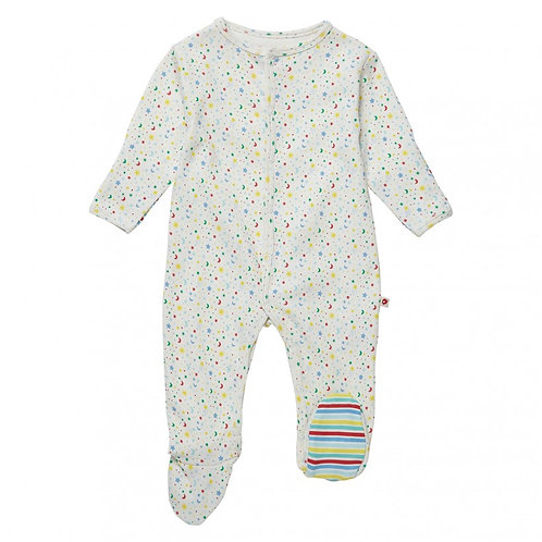 Ditsy Star Footed Sleepsuit