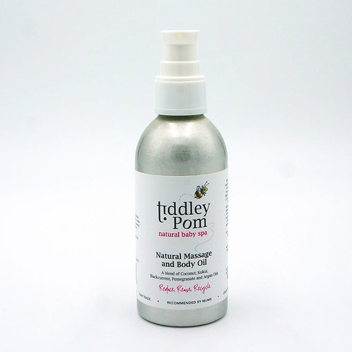 Tiddley Pom Natural Body and Massage Oil