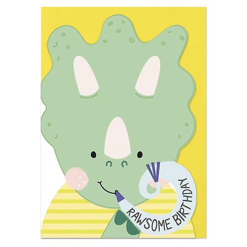 Rawsome Birthday - Dino