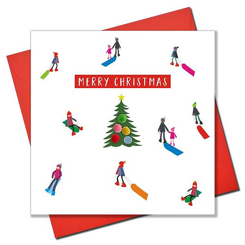 Happy Christmas Sledging