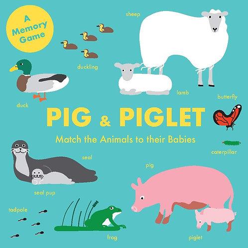 Pig & Piglet Matching Game